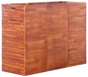 vidaXL Vyvýšený záhradný záhon, akáciové drevo 150x50x100 cm