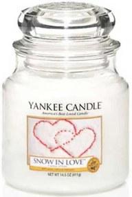 Yankee candle SNOW IN LOVE STREDNÁ SVIEČKA 1249714