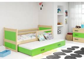 Detská posteľ s výsuvnou posteľou RICO 200x90 cm