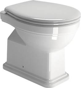GSI Classic 871011 WC misa 37x54 cm, spodný odpad, ExtraGlaze