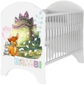 MAXMAX Detská postieľka Disney - BAMBI