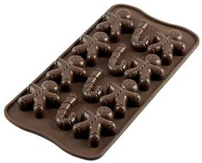 Silikomart forma na čokoládu MR. GINGER ,SCG12