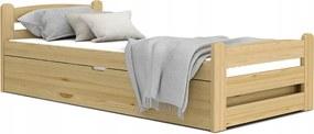 GL Vyklápacia posteľ Dávid 200x90