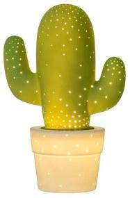 Lucide Lucide 13513/01/33 - Stolná lampa CACTUS 1xE14/40W/230V zelená LC1163