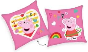HERDING Vankúšik Peppa Pig Perfect Polyester, 40/40 cm