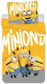 Detské obliečky Mimoni 03 140x200 70x90 cm 100% Bavlna Jerry Fabrics