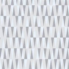 Vliesové tapety IMPOL Carat 2 10061-14, rozmer 10,05 m x 0,53 m, retro vzor strieborno-biely, ERISMANN