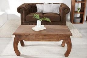 Konferenčný stolík Monsoon Opium 100 cm z masívneho akáciového dreva
