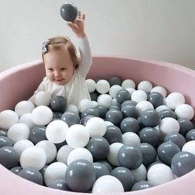 lovel.sk Suchý bazén pre deti okrúhly 90x40 cm + 200 guličiek