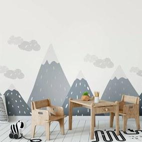 Nástenná samolepka Ambiance Scandinavian Giant Mountains Dinka