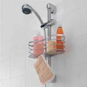 Závesná polička na sprchu Metaltex Viva