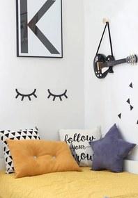 Nálepka na stenu spiace očká