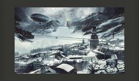 Bimago Fototapeta XXL - Winter in Russia 450x270 cm