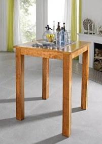 Masiv24 - CAMBRIDGE HONEY barový stôl masívna akácia, medová