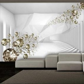 Fototapeta - Diamantový koridor 200x140 + zadarmo lepidlo