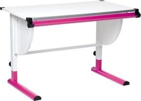 8571d4afccb4 Drevené výškovo nastaviteľné detské písacie stoly so zásuvkou