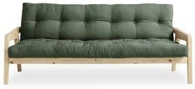 Variabilná pohovka Karup Design Grab Natural Clear/Olive Green