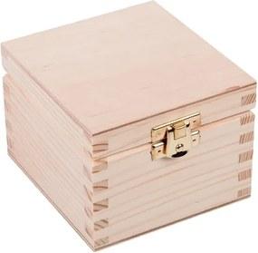 ČistéDrevo Drevená krabička XVI