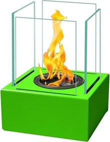 Globmetal Biokrb na stôl FLAME ZELENÝ