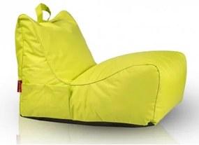 Ecopuf Sedací vak Ecopuf - FLAVIO polyester NC1 - Svetlo zelená