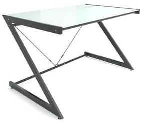 Dizajnový stôl Brik čierna/biela