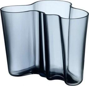 Váza Alvar Aalto 160mm, modrá rain Iittala
