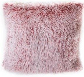 Jahu Obliečka na vankúšik Peluto bielo-ružová