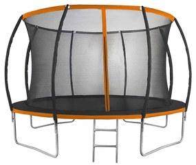 NABBI Jumper PRO trampolína 366 cm čierna / oranžová