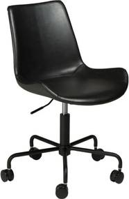 Čierna kancelárska stolička DAN-FORM Denmark Hype