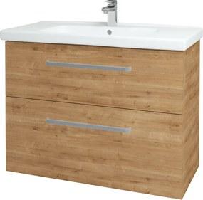Dřevojas - Koupelnová skříň BIG INN SZZ2 100 - D09 Arlington / Úchytka T01 / D09 Arlington (122379A)