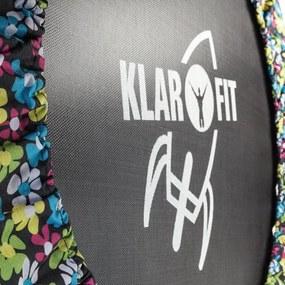 Klarfit Rocketbaby 5, kvetovaný vzor, trampolína, 96 cm plocha na skákanie