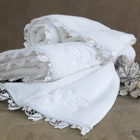 Soft Cotton Luxusný uterák NAKKAS 50x100 cm Biela