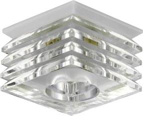 Emithor 71066 ELEGANT GLASS zápustné svietidlo GU10 / 50W, biela