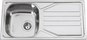 Sinks nerezový drez Okio 860 V leštený
