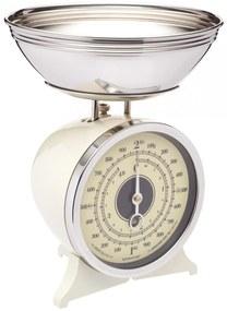 Kitchen Craft Mechanická kuchynská váha Cream - 2 kg