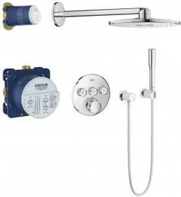 Grohe Grohtherm SmartControl - Sprchový systém s hlavovou sprchou Rainshower 310 SmartActive, chróm 34705000, chróm