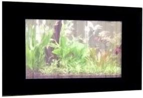 PROMOTEUS závesné akvárium 100x55x11cm čierna 30 l