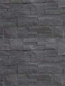 Imitácia kameňa obklad KRX09 Zet 35,5x18,3cm čierny