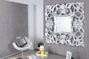 Nástenné zrkadlo Venice strieborné - vintage 75cm