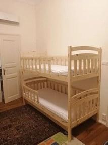 FA Poschodová posteľ Paula 7 (180x80 cm) Farba: Orech