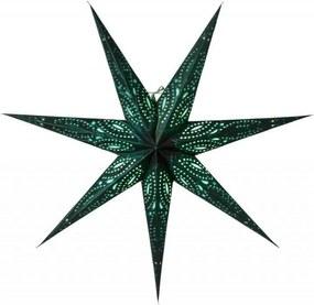 watt & VEKE Závesná svietiaca hviezda Ebba Green 80 cm