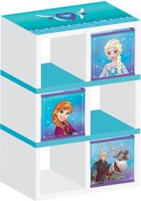 MAXMAX Detský regál Ľadové kráľovstvo - Frozen