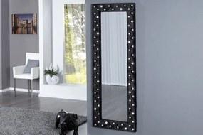 Bighome - Zrkadlo BOUTIQUE L BLACK 170x60 cm - čierna