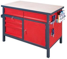 221d44691ed8 Pracovný stôl s uzamykateľnou skrinkou a zásuvkami