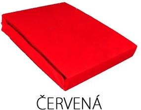 NY Plachta Jersey 180x90 Farba: Červená