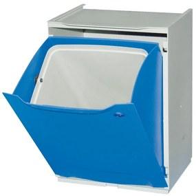 Artplast Plastový kôš na triedený odpad, modrá