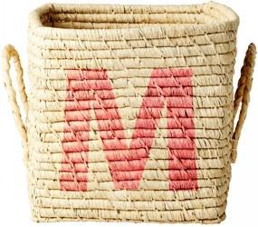 rice Úložný košík Raffia Small - M