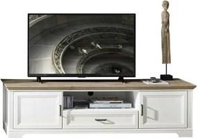 Sconto TV stolík JASMIN pínia svetlá/dub artisan