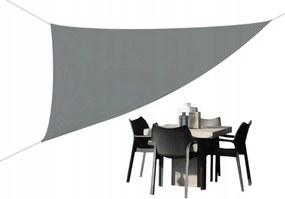 Tutumi Stínící plachta proti slunci / 3x3x3 / šedá