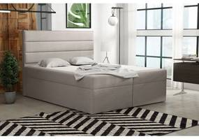 Boxspringová posteľ 120x200 INGA - béžová 1